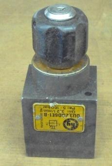 Válvula hidráulica (modelo: DU3,2D06E1-B)