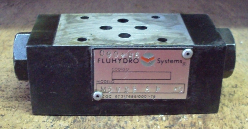 marca: Fluhydro Systems <br/>modelo: M3VRPAP10 <br/>estado: usada