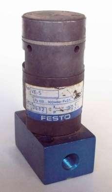 Atuador amplificador (modelo: VE5)