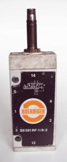 Válvula pneumática (modelo: S8581RF-1/8-2)