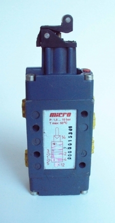 Válvula pneumática (modelo: 0000015301)