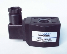 Bobina (modelo: 2W25025) para válvula pneumática