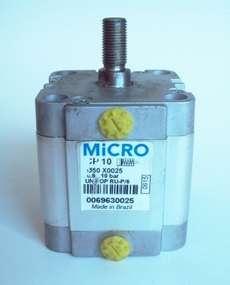 Cilindro pneumático (modelo: CP1050X25)