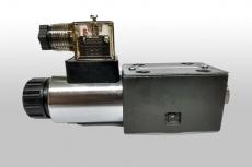 Válvula direcional (modelo: 4DWG6D 24v)