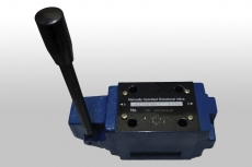 Válvula direcional manual (modelo: 4DWMG10E)