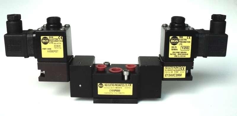 marca: RGS Electro Pneumatics <br/>modelo: C1519P0000 <br/>estado: seminova