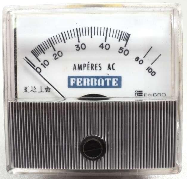 marca: Ferbate <br/>escala: 100AMP 61X64mm <br/>estado: seminovo
