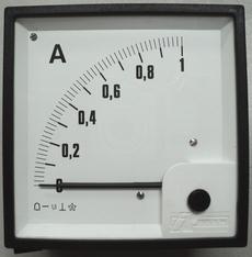 Amperímetro (escala: 1AMP)