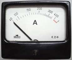 Amperímetro (escala: 40-400AMP)