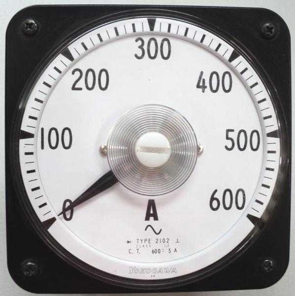 marca: Yokogawa <br/>escala: 600AMP 110X110mm <br/>estado: usado