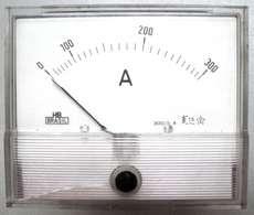 Amperímetro (escala: 300AMP)