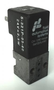 Válvula pneumática (modelo: 5321P-03-60)