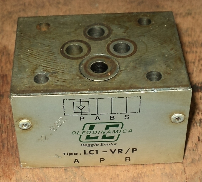 marca: Oleodinamica LC <br/>modelo: LC1VRP <br/>estado: usada