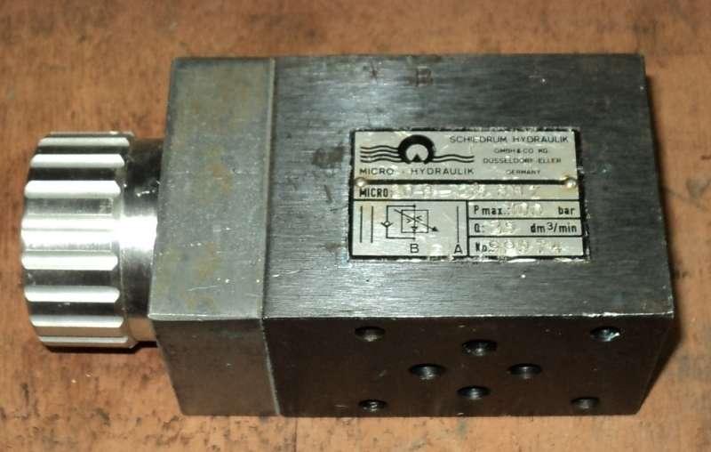 marca: Schiedrum Hydraulik - Micro Hydraulik <br/>modelo: 20B-2,5 BNZ <br/>estado: usada