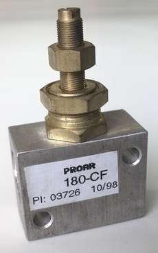 Regulador de fluxo (modelo: 180CF)