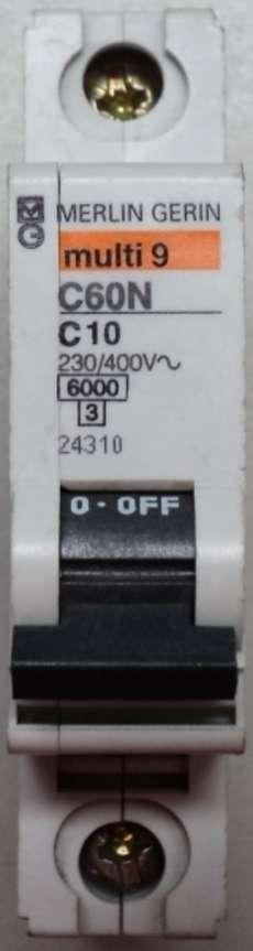 Disjuntor (multi9C60NC10)