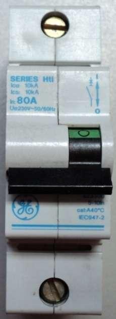 Disjuntor (modelo: SeriesHti80A)