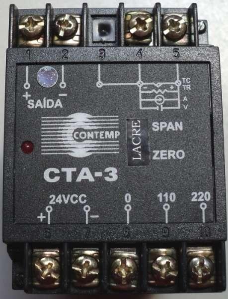 marca: Contemp <br/>modelo: CTA3 -10a10VCC <br/>estado: novo
