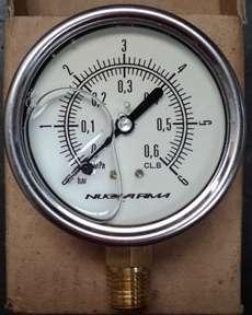Manometro (escala: 0,6MPA 6BAR)