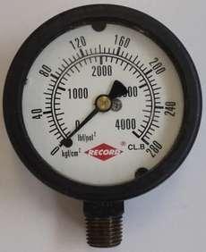 Manometro (escala: 4000lbf/pol2 280kgf/cm2)