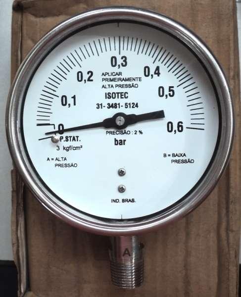 marca: Isotec <br/>escala: 0,6BAR <br/>estado: novo