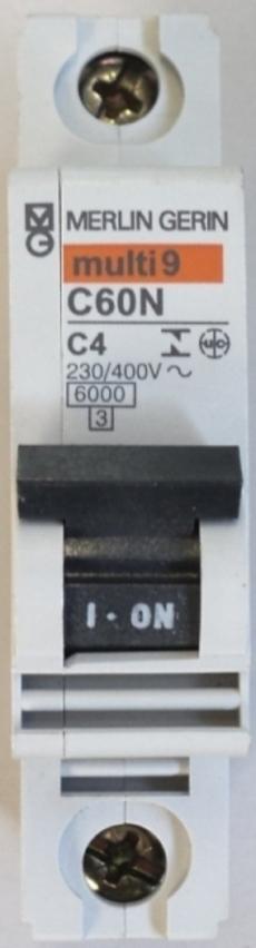 Disjuntor (modelo: multi9C60NC4)