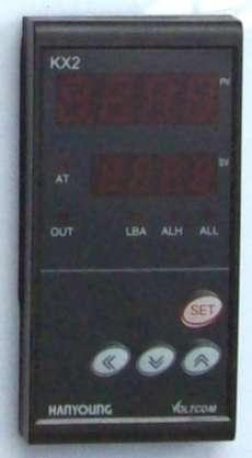 Controlador de temperatura (modelo: KX2digital)