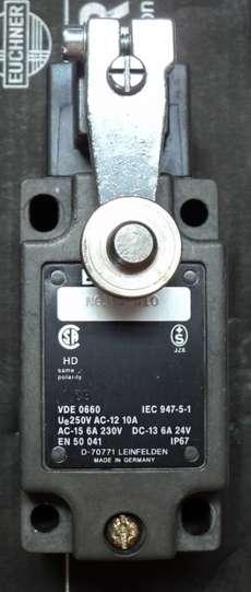 marca: Euchner modelo: NG1HS510 estado: novo