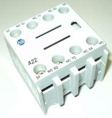 Bloco para contator (modelo: A22100FA22)