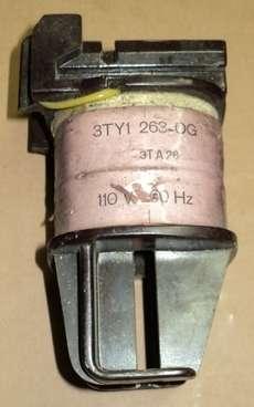 modelo: 3TY1263OB para contator 3TA26 3TA26 (K9151116) 110V 60Hz estado: usada, funcionando