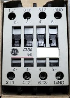 marca: GE modelo: CL04A310MH 110VCA 60Hz 1NA+0NF estado: nunca foi utilizado, na caixa