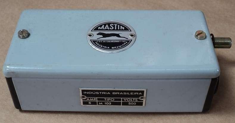 marca: Mastin <br/>modelo: M103 6A 500V <br/ >estado: nunca foi utilizada