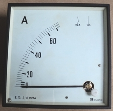 Amperimetro (escala: 70AMP)