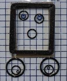 Jogo de vedação (modelo: OD4) para válvula hidráulica
