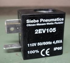Bobina (modelo: 2EV105) para válvula pneumática