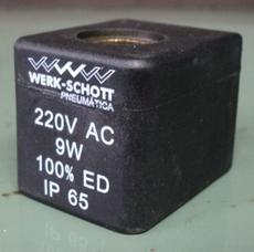 Bobina (modelo: BG22013A 220VAC9W) para válvula pneumática
