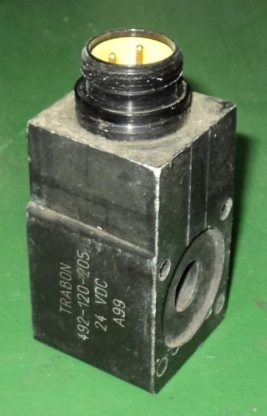 marca: Trabon <br/>modelo: 492120205 24VDC A99 <br/>estado: nunca foi utilizada