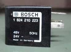 marca: Bosch modelo: 1824210223 48V 50Hz estado: nova
