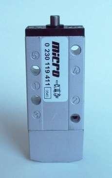 marca: MICRO modelo: 0230119411 Série MV