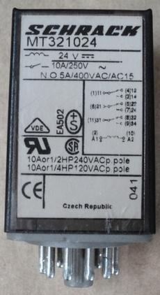 Rele (modelo: MT321024)
