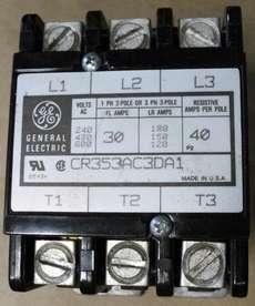 Contator (modelo: CR353AC3DA1)