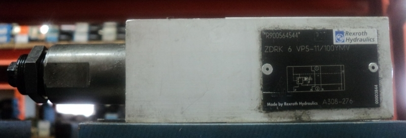 marca: Rexroth <br/>modelo: ZDRK6VP511100YMV <br/>estado: usada