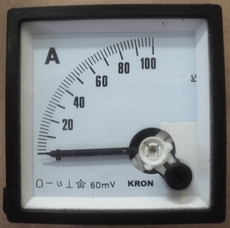 marca: Kron escala: 100AMP 70X70mm estado: usado, bom