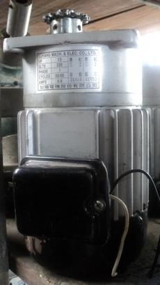 marca: Luyang modelo: 0,2HP/0,2CV 220KLTS PHASE1 50/60 0,8A monofásico estado: usado