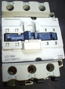 marca: Telemecanique modelo: LC1D5011 estado: usado