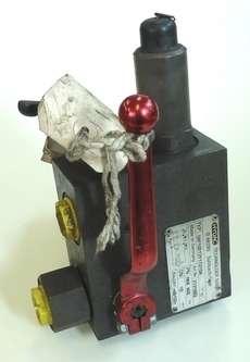 Válvula hidráulica (modelo: SAF10E12Y1T210A)