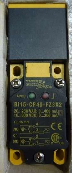 Sensor (modelo: BI15-CP40-FZ3X2)