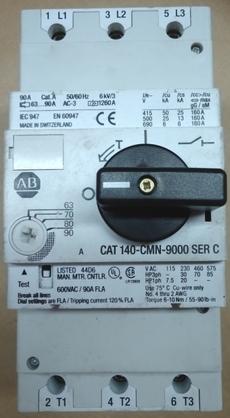 marca: Allen Bradley modelo: CAT140CMN9000SERC estado: usado