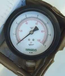Manometro (escala: 100PSI 7kgf/cm2)