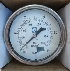 Manômetro (escala: 350PSI 25kgf/cm2)